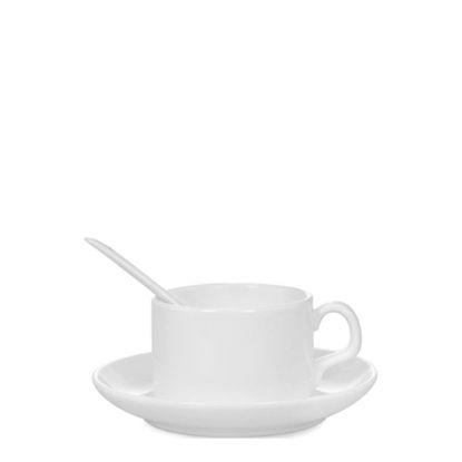 Εικόνα της MUG WHITE/GLOSS -  4oz (Coffee Set)