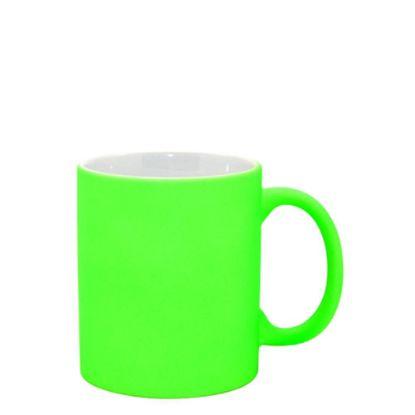 Εικόνα της MUG 11oz - FLUO MATT - GREEN  BRIGHT