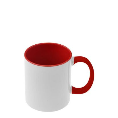 Picture of MUG 11oz - INNER & HANDLE - RED