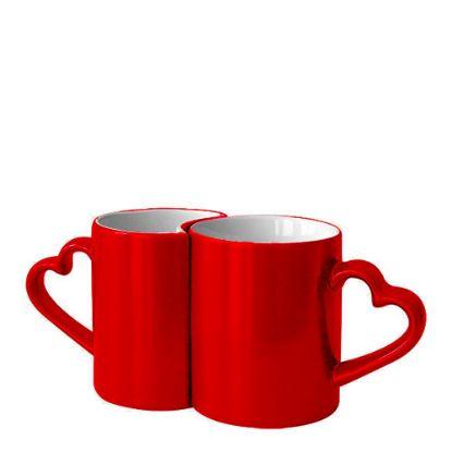 Εικόνα της MUG CHANGING COLOR 11oz.(LOVER 2p)RED gloss