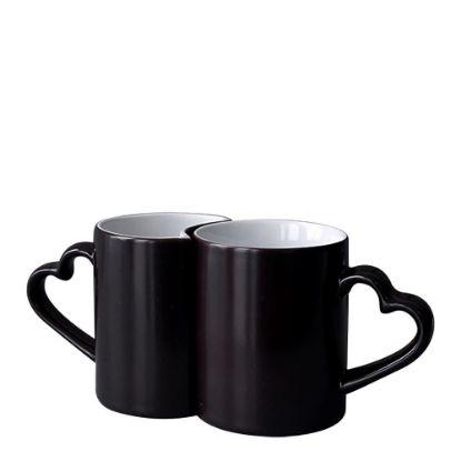 Εικόνα της MUG CHANGING COLOR 11oz.(LOVER 2p)BLACK gloss