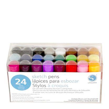 Εικόνα της GRAPHTEC (SKETCH PEN) KIT 24 colors