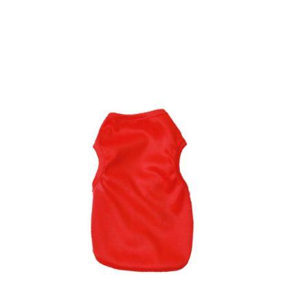 Εικόνα της PET CLOTH - Waistcoat (XS) RED