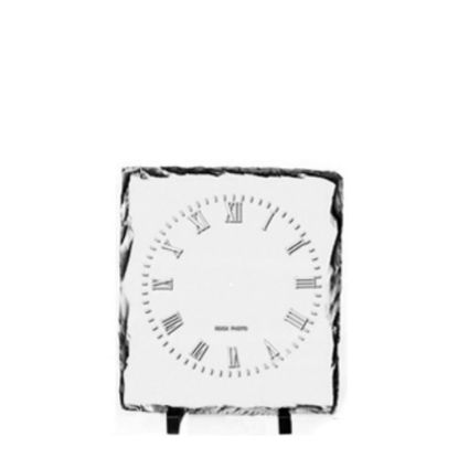 Picture of SLATE GLOSS - SQUARE- 27x27cm (CLOCK)