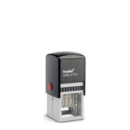 Εικόνα της TRODAT DATER stamp body (4724) 3mm-40x40mm