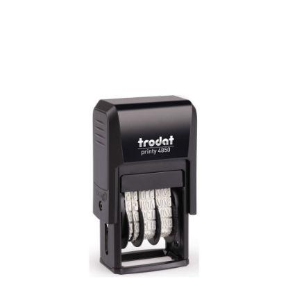 Εικόνα της TRODAT DATER stamp body (4850) 3.8mm-25x5mm