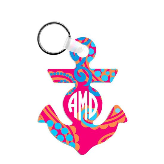 Picture of KEY-RINGS (Aluminum 2-sided) SEMI-GLOSS ANCHOR - 6.09 x 8.0