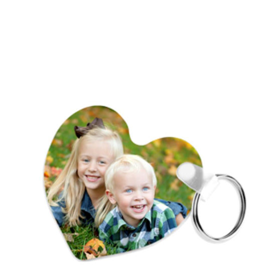 Picture of KEY-RINGS UNISUB (plastic FRP 2s) HEART - 6.35x5.72
