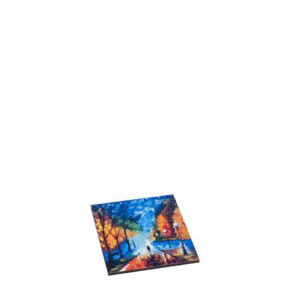 Εικόνα της HARDBOARD TILE - SQUARE WH.GLOSS- 5.08x 5.08