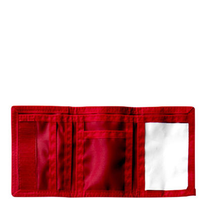 Picture of WALLET - NYLON (12x8cm) RED
