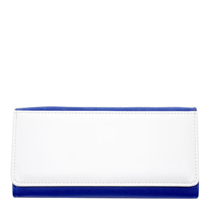 Picture of LADY PURSE with Gift box (FLEXI) BLUE