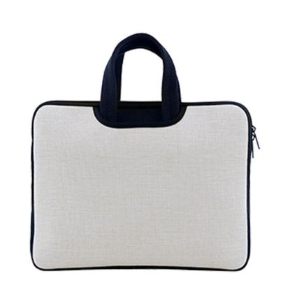 """Picture of LAPTOP BAG 14"""" (LINEN) with Handle"""