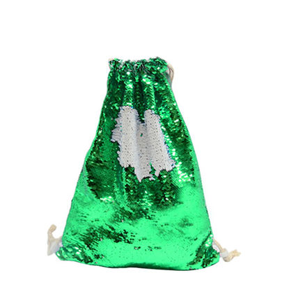 Picture of GYM BAG sequin (GREEN) 35x45