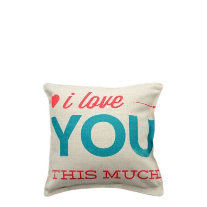Picture of PILLOW - COVER (LINEN) 15x15cm