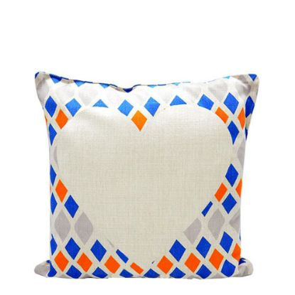 Picture of PILLOW - COVER (LINEN gemoteric) 40x40cm