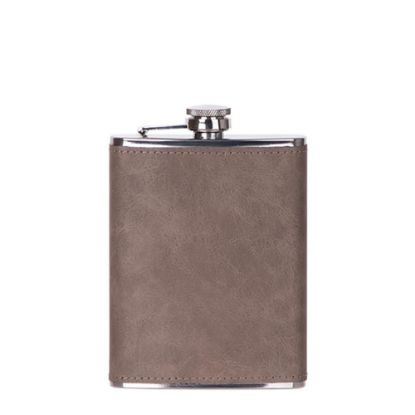 Picture of Flask 8oz PU (Grey)