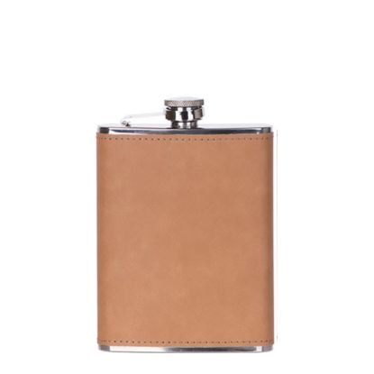 Picture of Flask 8oz PU (Brown)
