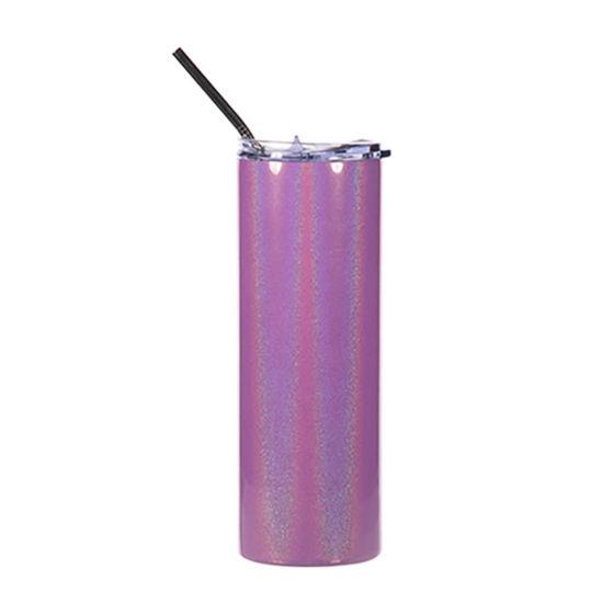 Picture of Skinny Tumbler 20oz (Sparkling Purple)