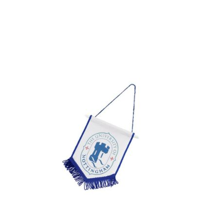 Picture of FLAG POLYESTER (18x15cm) BLUE