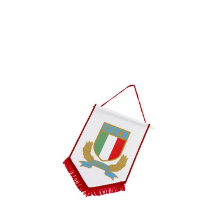 Picture of FLAG POLYESTER (18x15cm) RED