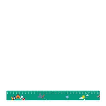 Εικόνα της PLASTIC RULER 30cm (31.0x3.2 cm)