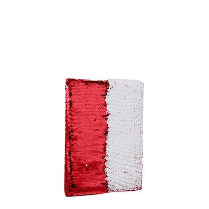 Εικόνα της NOTEBOOK A5 sequin (RED)