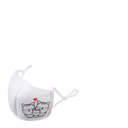 Picture of Face Mask KIDS 3D White/White (non medical) 10x15cm