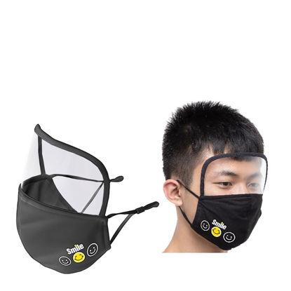 Εικόνα της Face Mask EYE SHIELD Black (non medical) 18x20cm