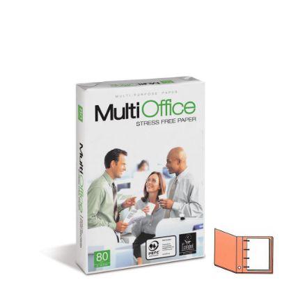 Εικόνα της Copy Paper (4 holes) A4/80gr. MultiOffice