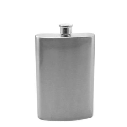 Picture of Flask 8oz (Silver)