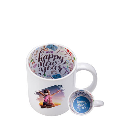 Picture of MUG 11oz - PRINT INSIDE (HAPPY NEW YEAR)