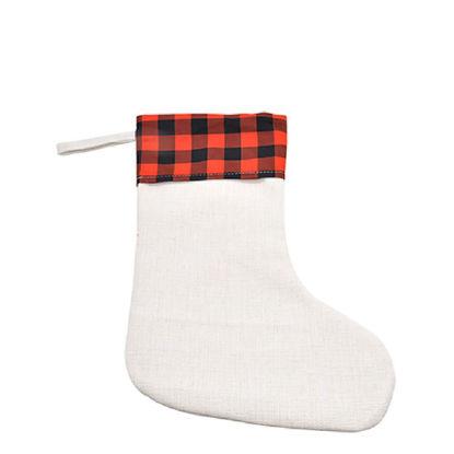 Picture of XMAS - STOCKING (LINEN) 26x41 cm
