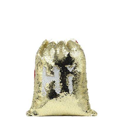Εικόνα της SACK - SEQUIN gold (40x30cm)