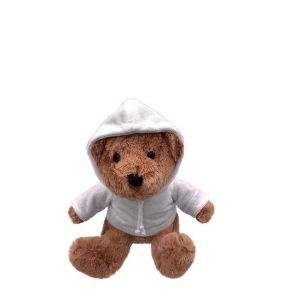 Εικόνα της TEDDY BEAR - 20 cm BROWN dark (with HOODIE)