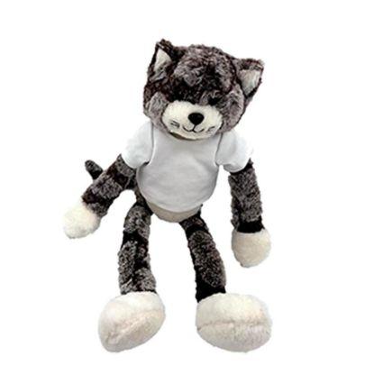 Εικόνα της TEDDY CAT- 26 cm (withT-Shirt)