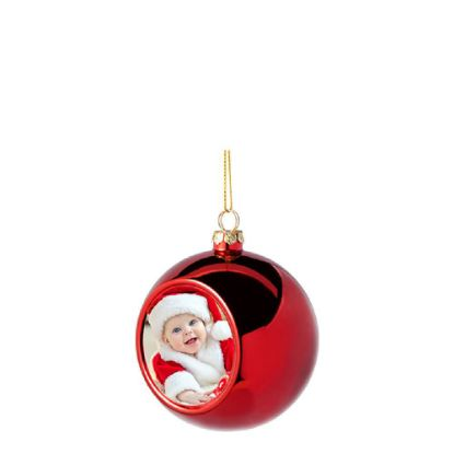 Picture of XMAS - BALL 8cm/RED