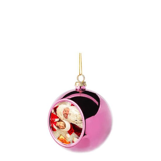 Picture of XMAS - BALL 8cm/PINK