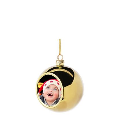 Picture of XMAS - BALL 8cm/GOLD