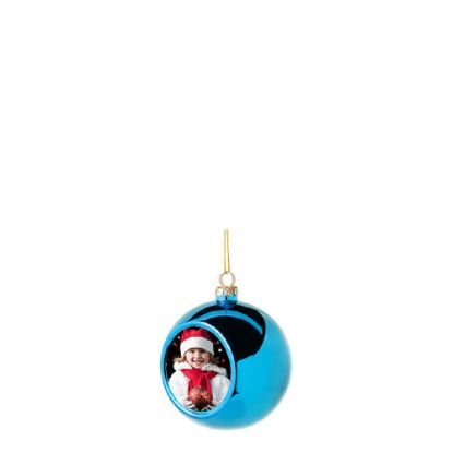 Picture of XMAS - BALL 6cm/BLUE