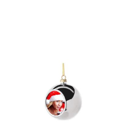 Picture of XMAS - BALL 6cm/SILVER