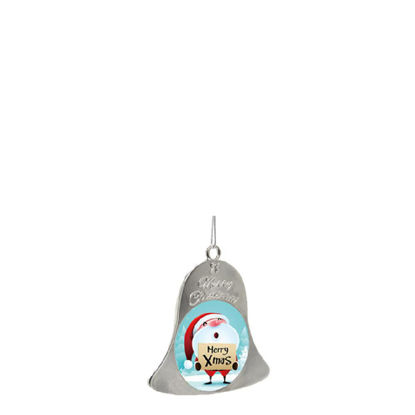 Picture of XMAS - ORNAMENTS BELL - SILVER