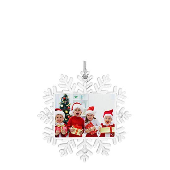 Εικόνα της XMAS - ORNAMENT plastic Snowflake (14x14cm)