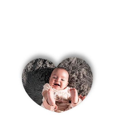 Εικόνα της FRIDGE MAGNET - HEART 5.5x5cm