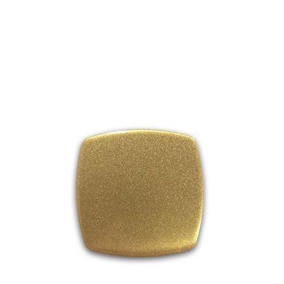 Picture of FRIDGE MAGNET -ALUM. (GOLD) SQUARE 5.7x5.7