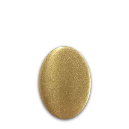 Picture of FRIDGE MAGNET -ALUM. (GOLD) OVAL 4.5x5.8