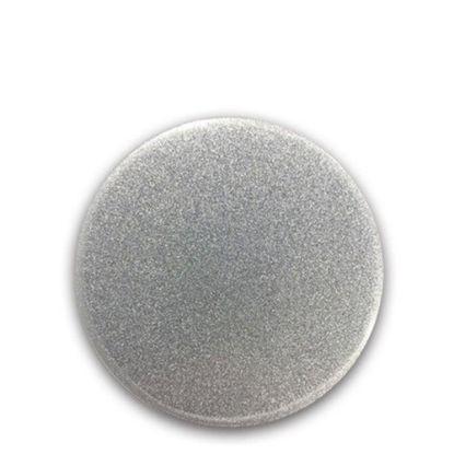 Picture of FRIDGE MAGNET -ALUM. (SILVER) ROUND 9.0x9.0