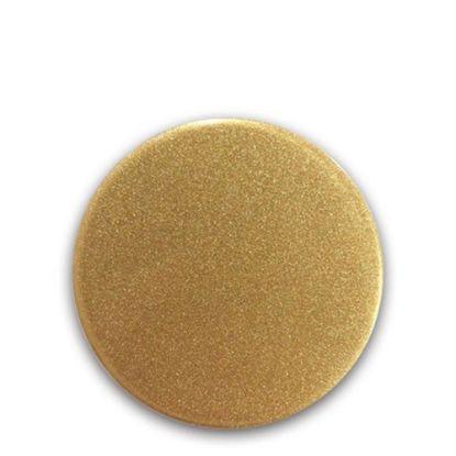 Picture of FRIDGE MAGNET -ALUM. (GOLD) ROUND 9.0x9.0