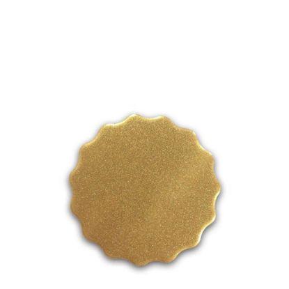 Picture of FRIDGE MAGNET -ALUM. (GOLD) ROUND 6.0x6.0
