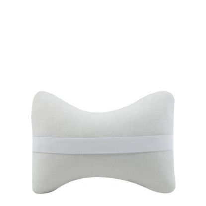 Picture of PILLOW COVER for car (2 pcs) Linen white