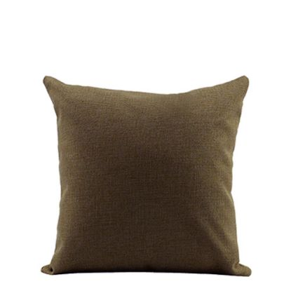 Picture of PILLOW - COVER (LINEN brown dark) 40x40cm